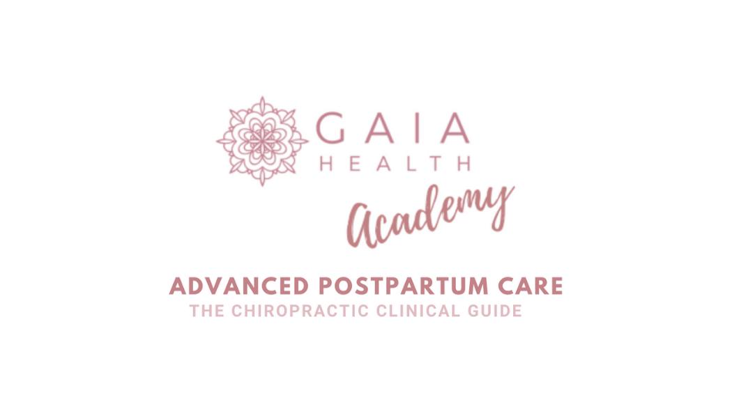postpartum chiropractic care